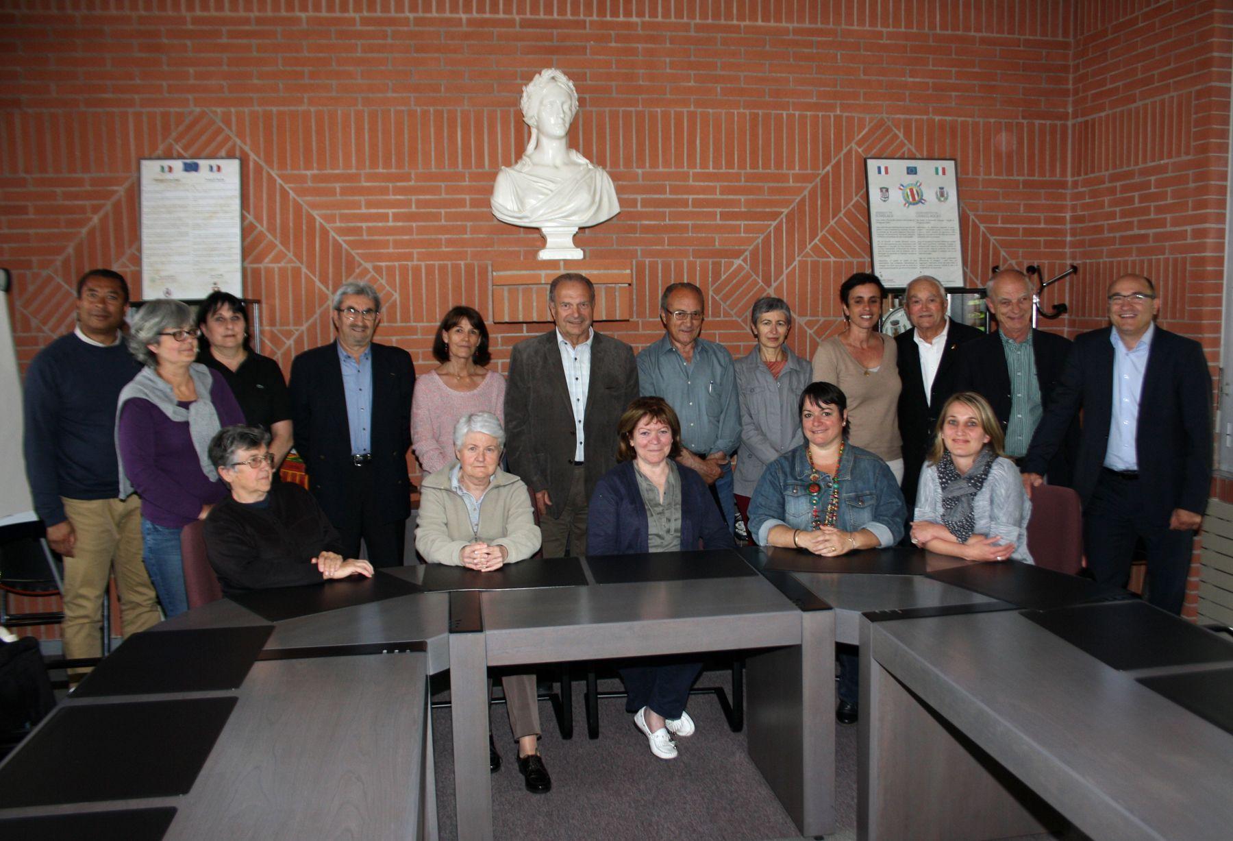 Le conseil d'administration du CCAS