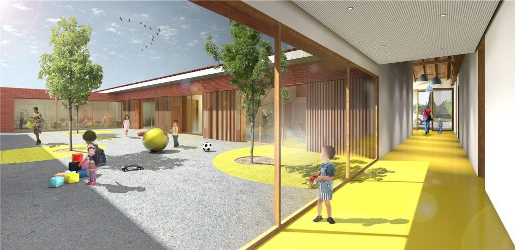 Projet école Poussin