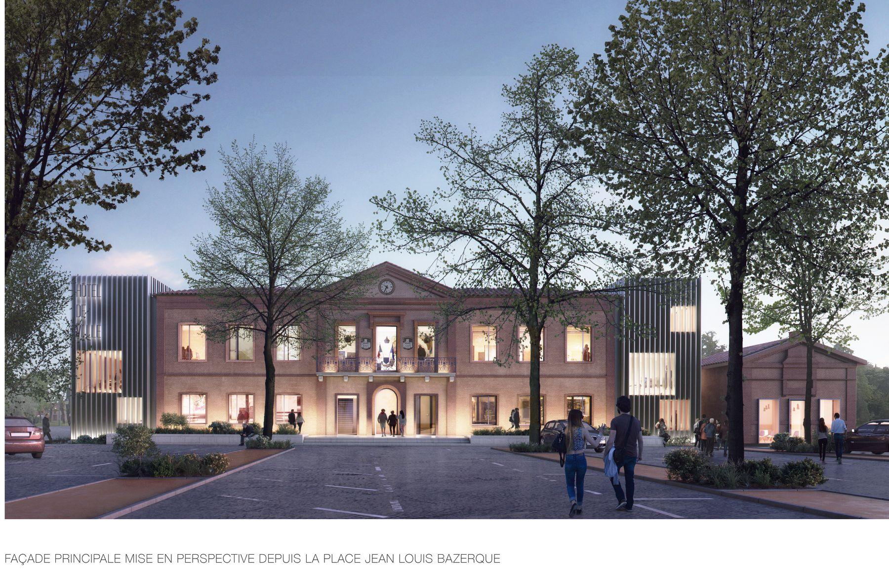 Projet nouvelle mairie
