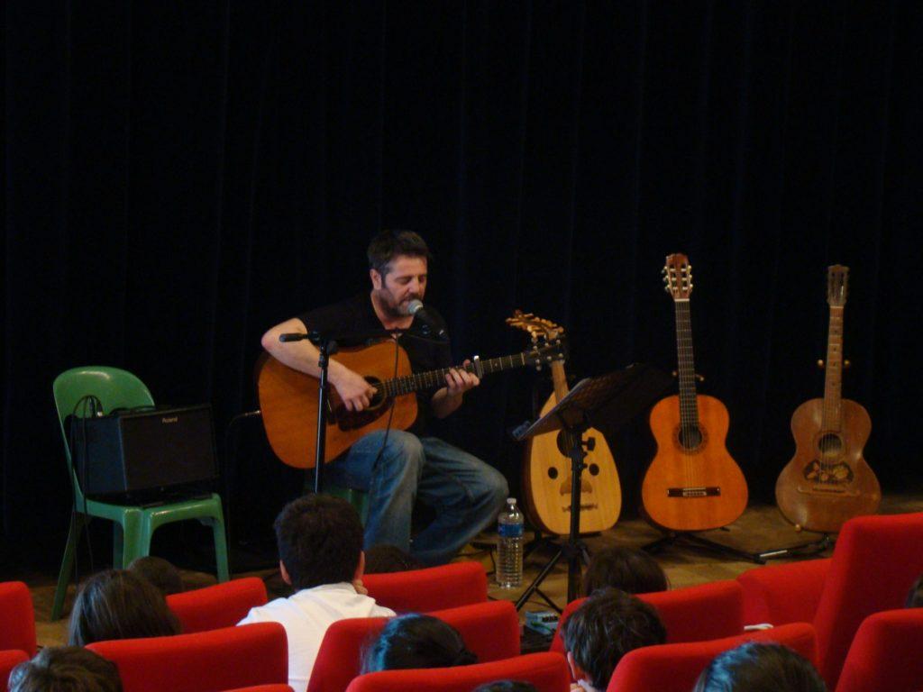 Festival de guitare concert animation scolaires