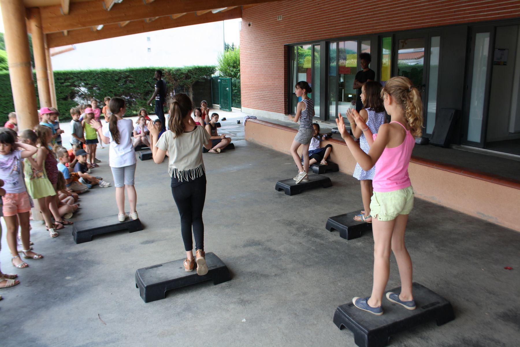 périscolaire atelier sport