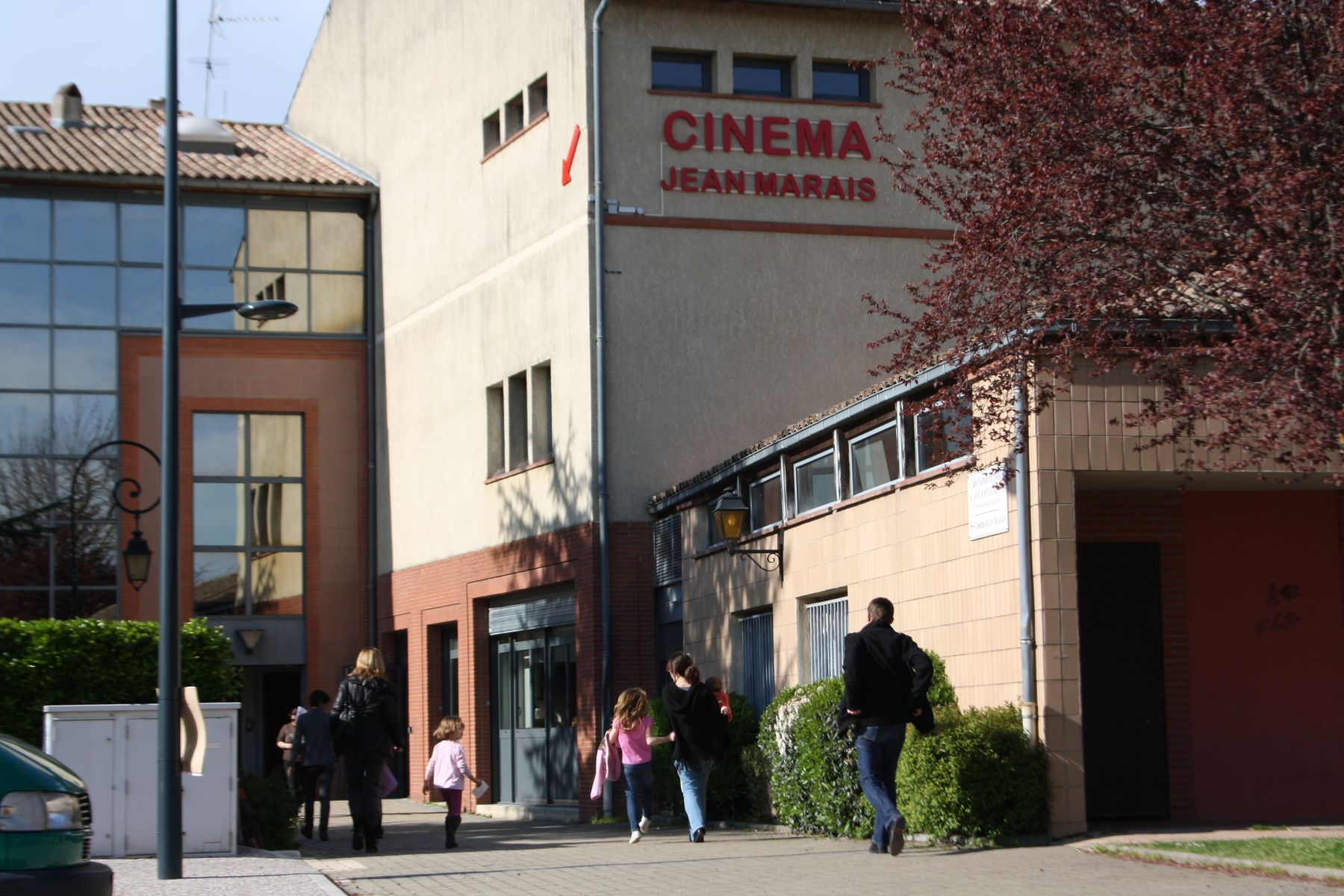 Centre culturel Alain Savary et cinéma Jean Marais