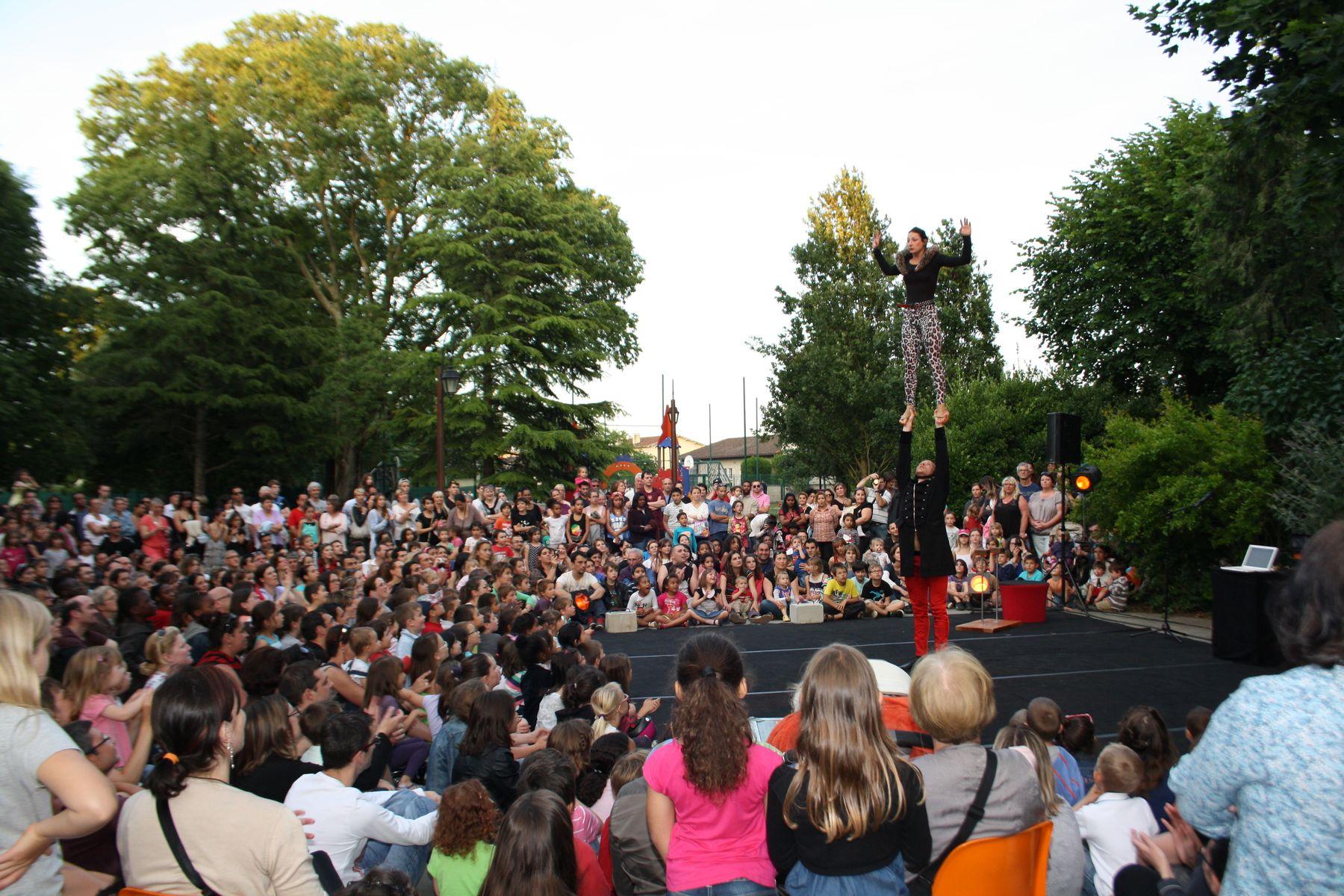 Culture et festivités au parc municipal