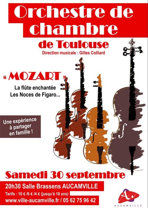 Concert classique - Orchestre de chambre de Toulouse