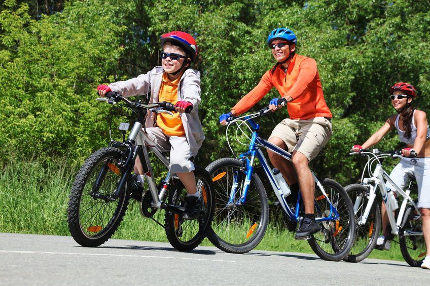 Sortie à vélo au lac du Bocage