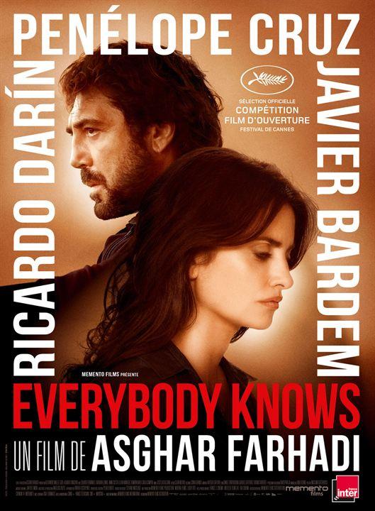"""""""Everybody knows"""" (VOST) - Sélection festival de Cannes"""