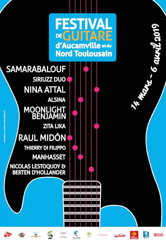 Festival de guitare : 10 concerts sur le Nord toulousain